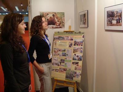 CPN- Fondo Natural participó en la Feria AYUDAR 07.