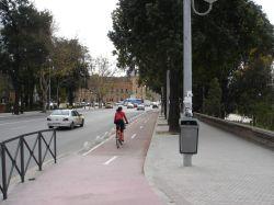 CPN- Munigua apoya el carril bici en Sevilla.
