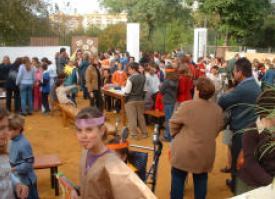 CPN- Munigua en la inauguración de los huertos escolares de
