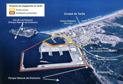 Proyecto de Puerto de Tarifa