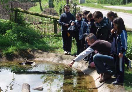 Actividades de educación ambiental del CPN- FAPAS en primavera.