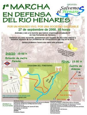 El club CPN- Alerce te invita a sumarte a la I Marcha en Defensa del Henares