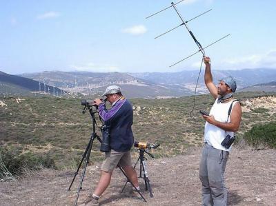 El CPN- COCN promueve el radioseguimiento de aves por el Estrecho