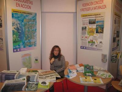 """FCPN y CPN- Ecologistas en Acción de Cuenca comparten """"stand"""" en UCLMempleo"""