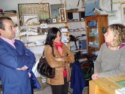 El Director General de la Agencia Andaluza del Voluntariado visita la Estación Ornitológica de Tarifa, que gestiona el CPN- COCN