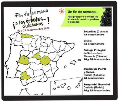 """FIN DE SEMANA """"A LOS ÁRBOLES... CIUDADANOS"""""""