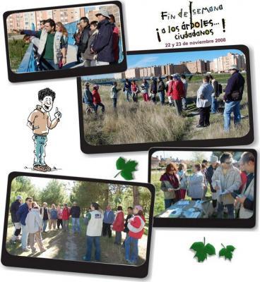 """1er Fin de semana """"A LOS ÁRBOLES... CIUDADANOS"""" en Coslada (Madrid)"""